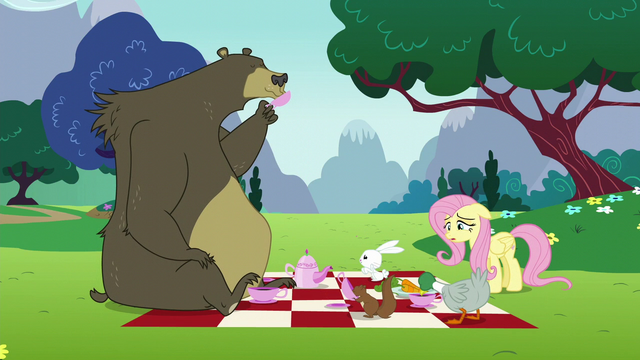 File:Fluttershy sighs in disappointment S6E6.png