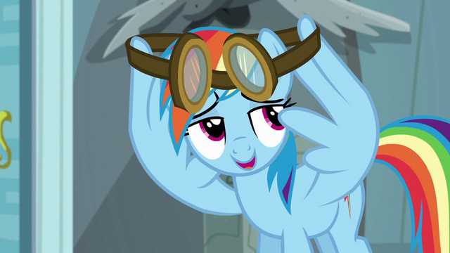 """File:Rainbow """"save that for the rest of the team"""" S6E7.png"""
