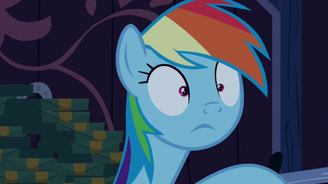 File:Rainbow Dash makes a realization S6E15.png
