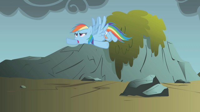 "File:Rainbow Dash ""time to stop wasting time"" S1E07.png"