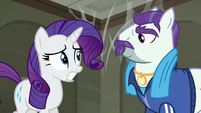 Rarity a bit nervous S6E9