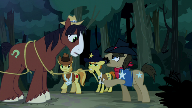File:Sheriff Silverstar arresting Trouble Shoes S5E6.png