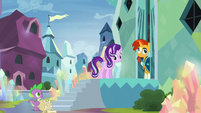 Starlight and Sunburst awkwardly pause S6E1