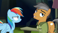 Quibble Pants still skeptical S6E13