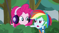 "Rainbow Dash ""we're trying to spy on them"" EG3"