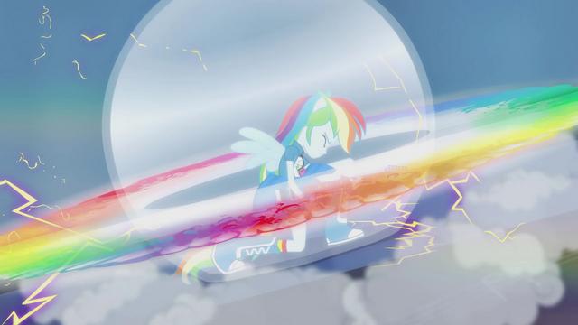 File:Rainbow Dash rock rainboom EG2.png