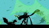 Chrysalis blasts Zecora S5E26