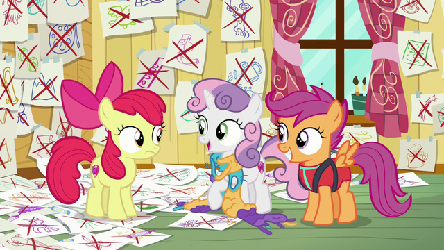 File:Sweetie Belle asking about Tender Taps S6E4.png