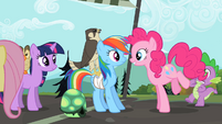 Pinkie Pie and Rainbow Dash2 S02E07
