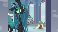 Queen Chrysalis ridiculous sentiment S2E26