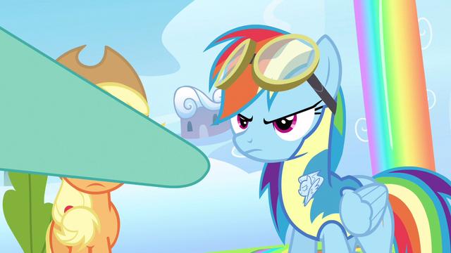 File:Rainbow Dash a hoof bump S3E7.png