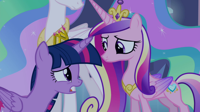"File:Twilight and Cadance ""I want to have a purpose"" S4E25.png"