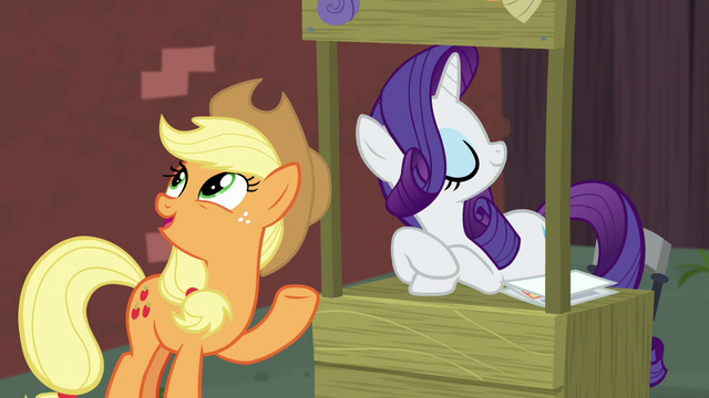 "File:Applejack ""it's at least worth lookin' into"" S5E16.png"