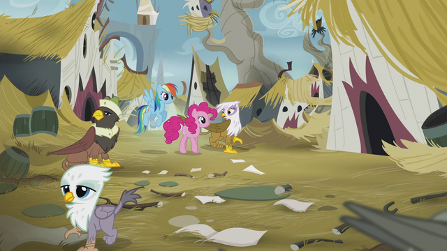 File:Gilda apologizes to Pinkie and Rainbow S5E8.png