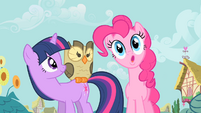 Pinkie Pie makes a clever pun S1E24