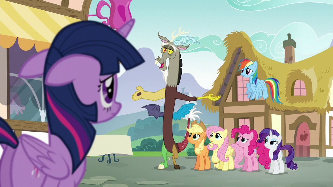 what about discord my little pony friendship is magic