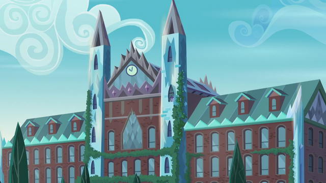 "File:Exterior shot of CPHS during ""What More Is Out There"" EG3.png"