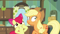 Applejack derp eyes S5E04