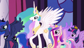 "Celestia ""Princess Cadance will dedicate"" S5E10.png"