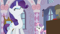 "Rarity ""What did you do"" S2E05"