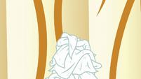 Stack of dirty towels S6E10