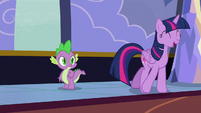"Twilight Sparkle ""I usually get letters by dragon"" S6E25"