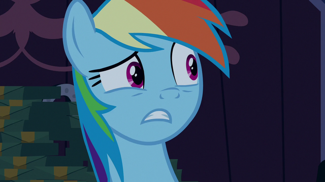 "File:Rainbow Dash ""this was all a prank?"" S6E15.png"