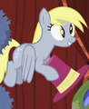 Derpy Hooves holding a hat S2E11.png