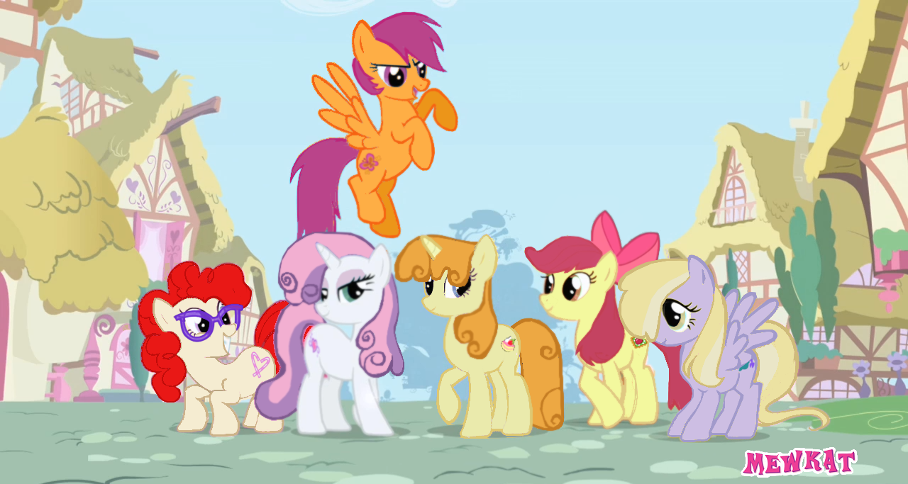 Mane 6 Group Vector by Fehlung.deviantart.com on @DeviantArt | my ...