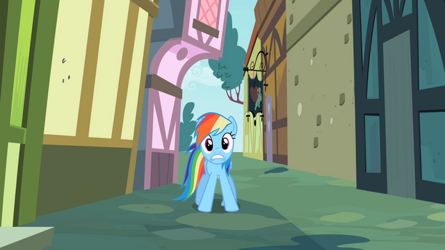 File:Rainbow Dash why! S2E8.png