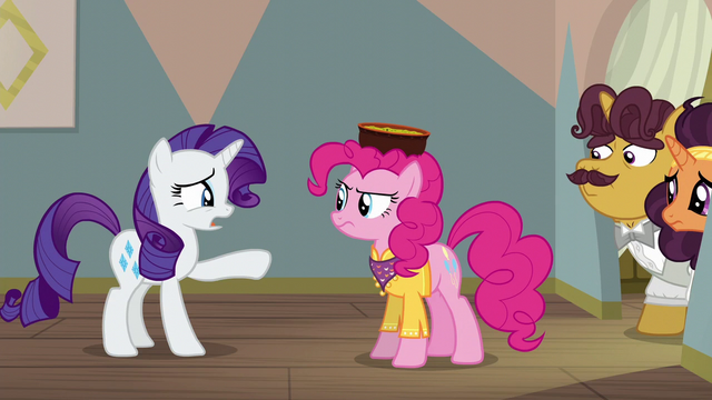 "File:Rarity ""you are going to ruin this for them!"" S6E12.png"