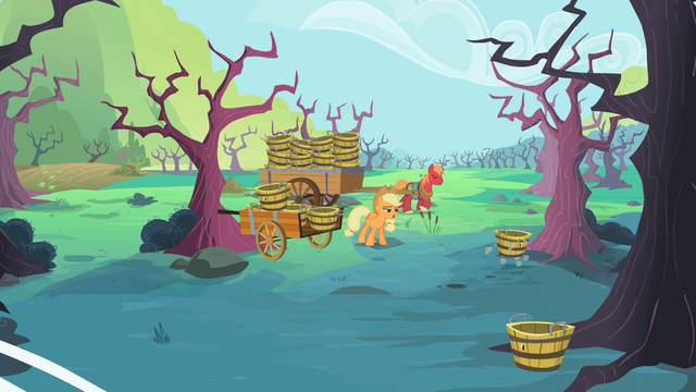 File:Applejack and Big McIntosh on the farm S2E12.png