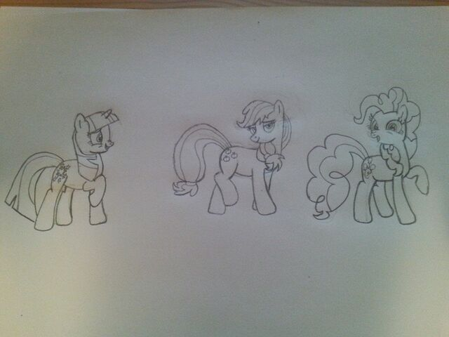 File:FANMADE Drawing of Applejack Pinkie Pie and Twilight Sparkle.jpg
