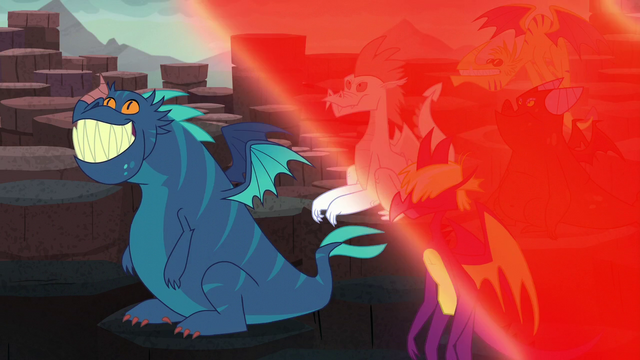 File:Red magical wave makes Garble's friends stop glowing S6E5.png