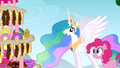 Celestia looking at the combined dessert S2E24.png