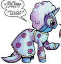 Comic issue 22 Trixie Manehattan disguise