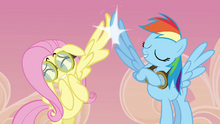 Rainbow and Fluttershy 'high wing' S2E22.png