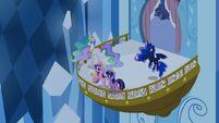 Princess Celestia, Cadance, Twilight and Luna S4E25