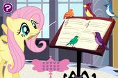 Fluttershy's Songbird Chorus screenshot - hard difficulty