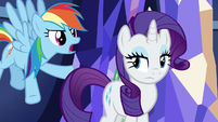 "Rainbow Dash ""it's Twilight's home!"" S5E3"