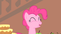 Pinkie Pie munching on food S1E22