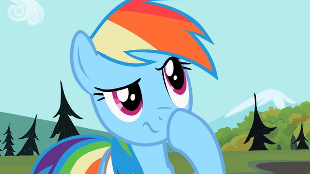 File:Rainbow Dash hmmm S2E7.png