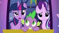 "Twilight Sparkle ""is it a bird?"" S6E25"