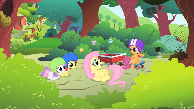 File:Fluttershy telling her story S1E23.png
