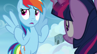 "Rainbow Dash ""I practically fell asleep"" S6E24"