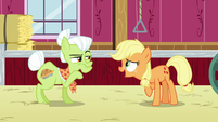"Young Applejack ""it would go faster"" S6E23"