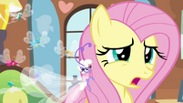 "Fluttershy ""has it been an hour already"" S4E16"