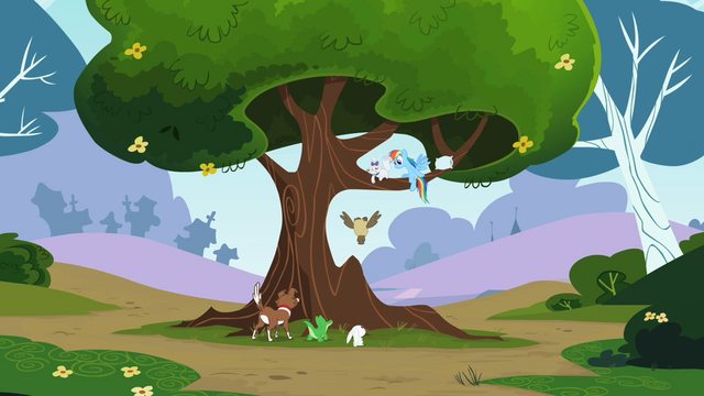 File:Rainbow Dash Tree S2E07.png