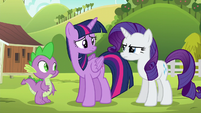"""Rarity """"refused to relax until she had fixed them"""" S6E10"""