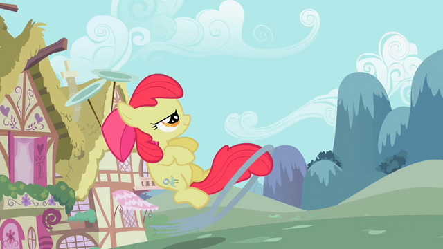 File:Apple Bloom launching the ring S02E06.png